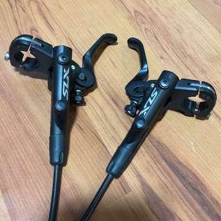 Like new Shimano SLX 7000 Hydraulic Disc brakes (Pair)