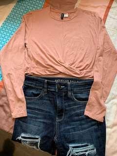 H&M 純棉時款衫