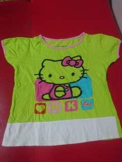 T-Shirt Anak perempuan Hello Kitty