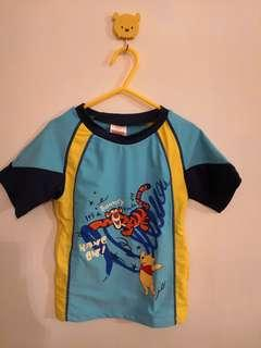 Size 130 Winnie-the-Pooh 泳衣套裝