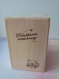 Rilakkuma Wood Box鬆弛熊木盒
