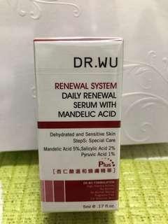 🚚 DR.WU 杏仁酸溫和煥膚精華 5ml
