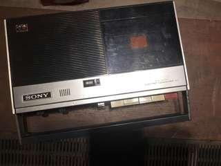 Sony 卡式 錄音機