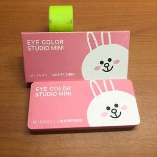 🚚 Line兔兔眼影盤