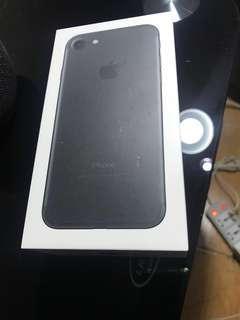 Iphone 7 32 gb black mulus like New