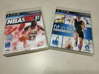 PS3 Game 遊戲碟 玩 Move 運動體育系 NBA 2K FIT