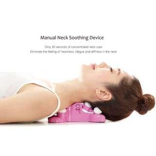 Manual Cervical Spondylolysis Neck Soothing Device Finger Pressure Massager