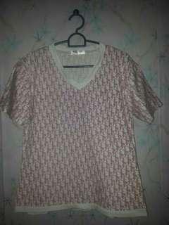 Shirt : Dior full print...