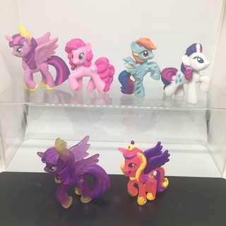 🚚 My Little Pony Figurines b