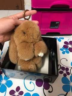 Rabbit keychain with box