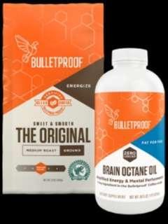 🚚 Bulletproof Coffee Starter Kit (Original Ground Coffee + 16Oz Brain Octane Oil)