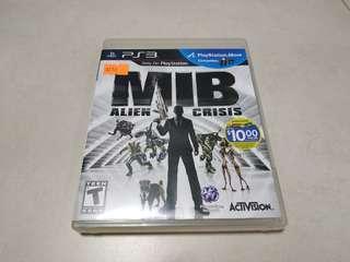 PS3 Game MIB 玩 Move Alien Crisis 可雙人