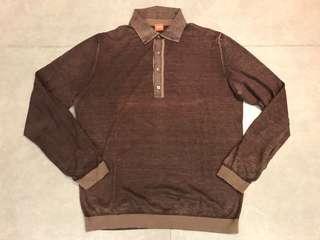 Hugo Boss Orange Label Men Polo Sweater 長袖上衣