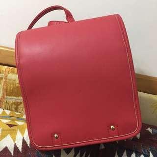 小丸子紅色書包 購自日本