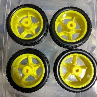 Wheels for Arduino Car