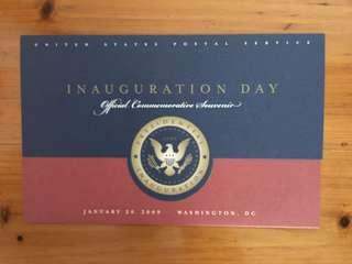 2009 & 2013 Presidential Inauguration (USA) FDC's