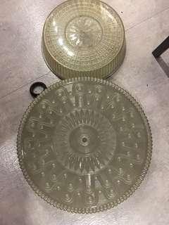 Vintage ceiling light 古董 膠 燈蓋