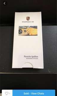 🚚 Porsche Keychain