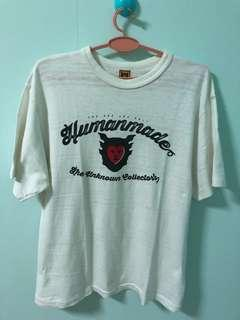 💯Authentic Human Made White tee