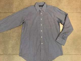 (全新) Land's End Men Cufflinks Dress Shirt 男裝襯衫