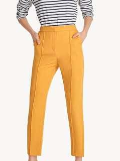 🚚 Pomelo yellow tapered pants bnwt