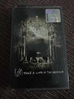 Korn Take A Look At The Mirror cassette