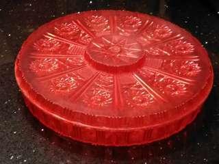 懷舊水晶膠全盒11.5吋(絕版紅色)