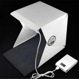 🚚 Mini Folding Photography Studio Box Lightbox Softbox Adjustable LED Light Box