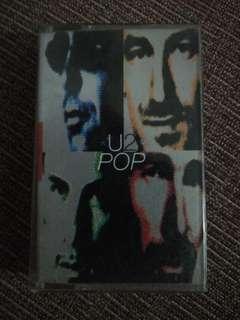 U2 Pop cassette