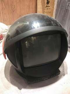 Philips space age television tv 80's 電視