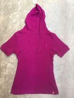 Hooded Ladies Top