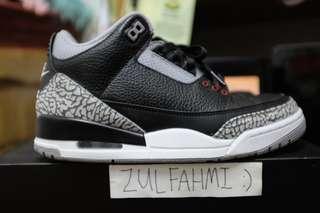 525885a99d0 nike air jordan 3   Footwear   Carousell Malaysia