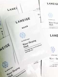 [試用裝] Laneige Water Sleeping Mask 睡眠面膜 4ml sample