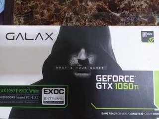 Galax 1050ti exoc white 4gb 128-Bit DDR5