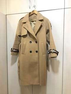 併單 長短版大衣