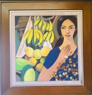 Hermes Alegre Painting
