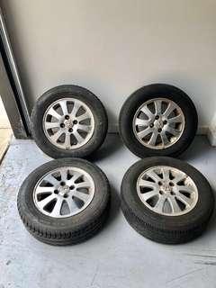 Honda 4x100 Wheels
