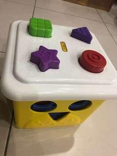 Stacking Bucket and Shape Sorter