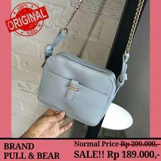 SALE!! Authentic Pull & Bear - Hangout Slingbag - Original Branded