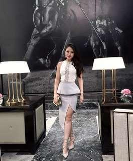 Duchess & Co Skirt- Grey