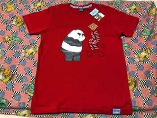 $12 FAST DEAL !! Official We Bare Bears CNY T-Shirt