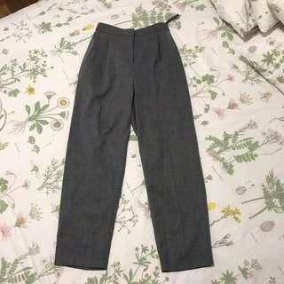 topshop grey trousers