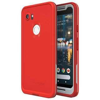 Lifeproof Case for Pixel 2 XL - Lava Red