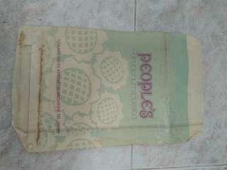 Vintage paper bag- People's