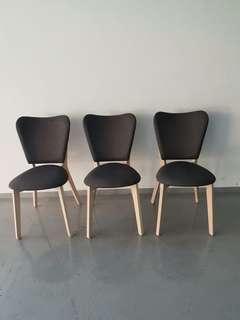 Minimalist Wooden Chairs