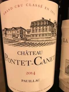 🚚 Château Pontet-Canet 2014 Pauillac