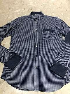 🚚 Authentic Brand New Gas Men Checker Shirt