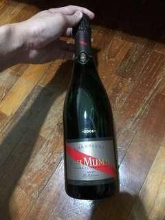 🚚 2006 Champagne G.H.MUMM Brut Le Millesime 75cl