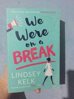 We were on a break - Novel Import