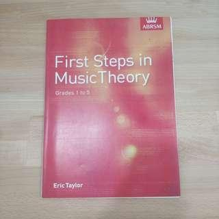 Music theory abrsm grade 1 to 5